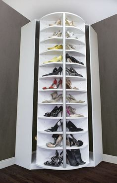 Elegant  Space Saving Shoe Rack Ideas