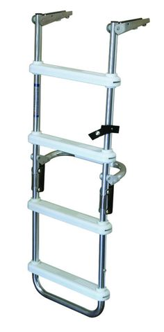 Jif Duf3 3 Step Telescoping Pontoon Ladder Stainless