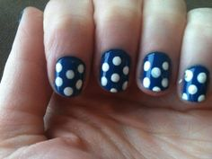 Nail Art Tutorial: How to do a Lucy Dots Manicure