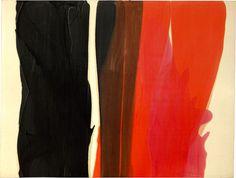 Morris Louis, Dalet zayin, 1959, synthetic polymer paint on unprimed canvas, 253.5 h x 336.5 w cm