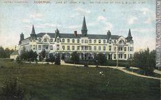 Hôtel Château Roberval vers 1910