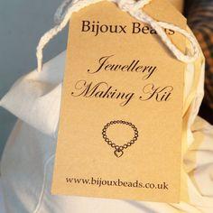 Starter Kit from Bijoux Beads Bespoke Jewellery, Bead Jewellery, Jewellery Making, Jewelry, Starter Kit, Creative Gifts, Paper Shopping Bag, Beads, Beading
