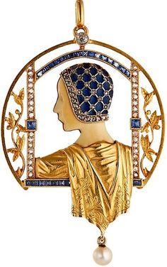 Art Deco, Art Nouveau jewelry - Masriera
