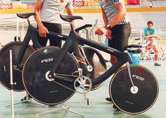 East German track bikes for the 1988 Seoul Olympics.
