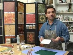 Programa 06 - ESTUDIO MIGUEL LUCERO - Tecnica Mixta - YouTube Decoupage, Youtube, Hand Crafts, Paper, Decorated Boxes, Study, Tutorials, Artists, Crafts