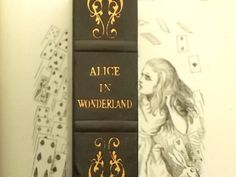 Lewis Carroll omnibus Alice in Wonderland book by EAGERforWORD, £25.00