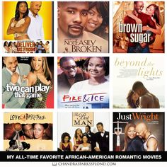 My All-Time Favorite African-American Romantic Movies Movies To Watch Teenagers, Movie To Watch List, Movie List, I Movie, Black Love Movies, Quarantine Movie, Romantic Comedy Movies, Drama Movies, African American Movies