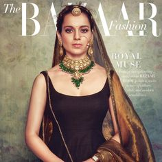 "Sabyasachi Mukherjee (@sabyasachiofficial) on Instagram: ""Kangana Ranaut styled by Sabyasachi for Harper's Bazaar Bride. She wears a textured silk bodycon…"""