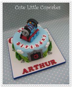 Thomas the Tank Engine birthday cake x