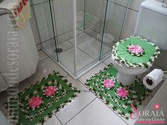 Jogo de Banheiro Mega Flor