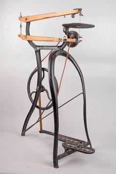 Pedal operated scroll saw