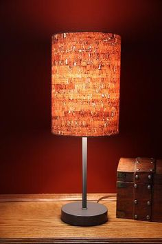 Cork lampshade how cool home goodness pinterest cork aloadofball Images