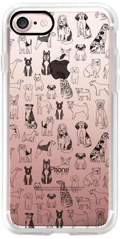 Casetify iPhone 7 Classic Grip Case - Dogs by Andrea Lauren #Casetify