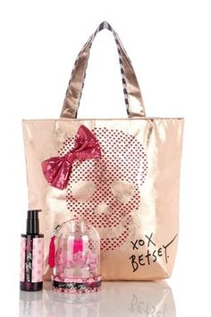 66a78591a30 Too Too Pretty Skull Tote Gift Set Betsey Johnson Purses, My Bags, Purses  And
