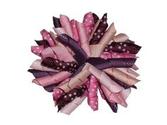 3.5' Winterberry Korker Girls Hair Bow Clip *** Want to know more, click on the image.