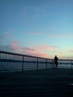 On the boardwalk in Perth Amboy, New Jersey