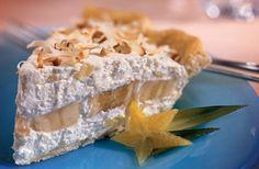 Tropical Banana-Pineapple Pie Recipe - Diabetic Gourmet Magazine