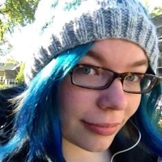 Ashe Dryden, blue haired developer