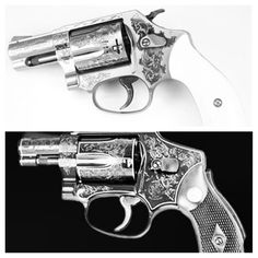 Engraved Revolvers