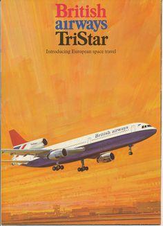 British Airways Tristar Brochure