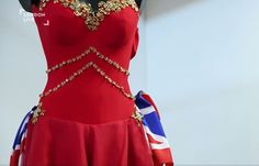 Spice Girls Geri's beautiful Union Jack dress - Mannequins supplied by SW Union Jack Dress, Spice Girls, Full Body, Action, Female, Shopping, Beautiful, Tops, Dresses