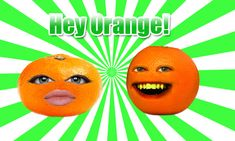It stars an orange that annoys other fruits, vegetables, and various other objects by using crude-humored jokes.