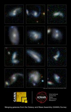 Monster galaxies gain weight by eating smaller neighbours - http://scienceblog.com/74454/monster-galaxies-gain-weight-eating-smaller-neighbours/