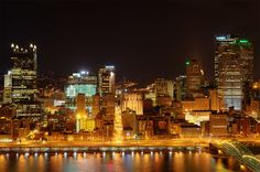 The exact view from our hotel room. 1/10/14 --Pittsburgh, PA