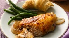 Garlic Chicken in the Crock Pot Spend 15 minutes in the morning, and this classic dish is ready at dinnertime.