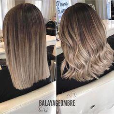 Left or right? . . by Balayageombre  Follow @style_luxury_lovers_  #hair#hairstyle#instahair#hairstyles#haircolour#haircolor#hairdye#hairdo#haircut#longhairdontcare#braid#fashion#instafashion#straighthair#longhair#style#straight#curly#black#brown#blonde#brunette#hairoftheday#hairideas#braidideas#perfectcurls#hairfashion#hairofinstagram#coolhair        Trend Trendy Hair Hairstyles Makeup Beauty