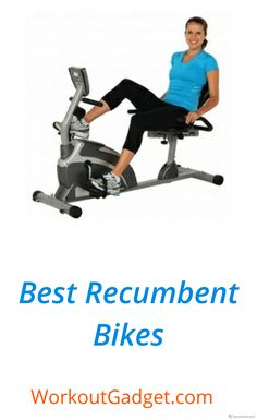 we're reviewed best recumbent exercise bikes for seniors, short persons, home use & commercial use.