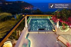Villa Sandra--stunning new villa near Nerano on the Amalfi Coast. Gorgeous views! Sleeps 10. #amalficoast