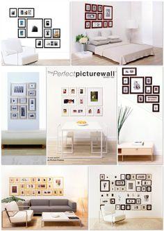 61 indrukwekkende muurdecoratie ideeën met een zelfgemaakte fotocollage