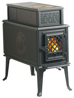 Rare Jotul 404 Y2k Cast Iron Wood Burning Cook Stove