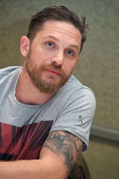 Tom Hardy at the 'Legend' Press Conference at the Park Hyatt on September 13, 2015 in Toronto   Credit: Vera Anderson