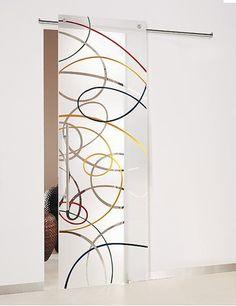 Porte design Lyon - Portes Design, pose porte d'intérieur design - Porte sur mesure Lyon