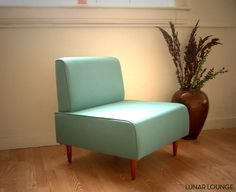 Bokz Lounge chair / slipper chair Eames Era Classic Mid Century on Etsy, $500.00
