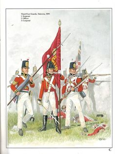 The Third Regiment of the Foot was later called the Scots Guards, but since that term wasn't used in 1750, I didn't use it in my narrative. Check the man in the center--this is what Captain Murray would have looked like when Charlotte met him at the dancing assembly.