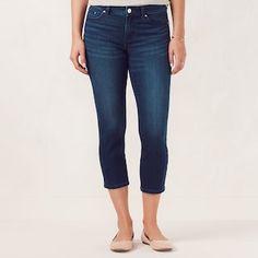 0101135f04b8b Women's LC Lauren Conrad Capri Skinny Jeans Lauren Conrad Style, Capri Jeans,  Slacks,
