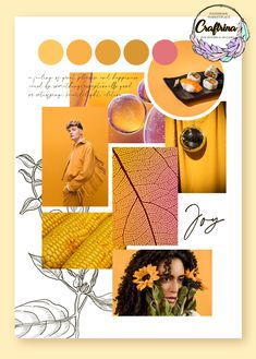 Find more handmade inspiration on Craftrina! Joy-a feeling of great pleasure and happiness caused by something exceptionally good, or satisfying. Mise En Page Portfolio Mode, Fashion Portfolio Layout, Fashion Design Sketchbook, Portfolio Design, Mode Collage, Mood And Tone, Magazine Layout Design, Graphic Design Tips, Fashion Collage