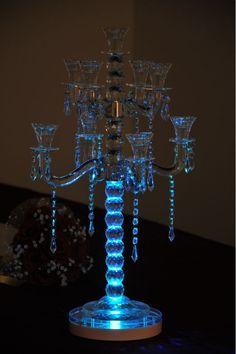 8inch Table Multi-colors Light  Base  Remote Controller Vase Decor