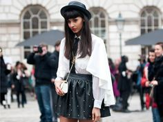 London Fashion Week Street Style F/W 2012, Day 1