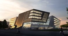 Library and Learning Center: University of Economics and Business – Vienna   Credit: Zaha Hadid Architects