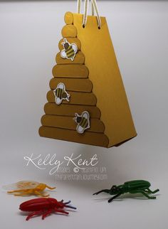 ESAD Blog Hop 2015: Other projects using the Cutie Pies Thinlits Die.  Beehive. Kelly Kent - mypapercraftjourney.com.