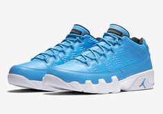 Official Images Of The Air Jordan 9 Low Pantone #thatdope #sneakers #luxury #dope #fashion #trending