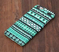 Stylish Green Aztec Design iPhone 6 Case/Plus/5S/5C/5/4S Protective Case – Acyc