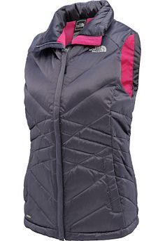 I like grey and pink so I should get this , THE NORTH FACE Women's Aconcagua Vest