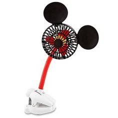 Cool off with Mickey! Our handy Mickey Mouse Fan is battery operated so it's completely portable. Just clip it on to a table or chair and Mickey will make everything breezier! Cocina Mickey Mouse, Mickey Mouse House, Mickey Mouse Kitchen, Mickey Mouse And Friends, Mickey Minnie Mouse, Disney Mickey, Mini Mouse, Casa Disney, Disney Rooms