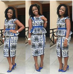 latest ankara skirt and blouse styles for latest ankara skirt and blou… Africanstylesforladies - African Styles for Ladies African Dress Patterns, African Print Skirt, African Dresses For Women, African Print Dresses, African Print Fashion, African Fashion Dresses, African Attire, African Wear, African Lace