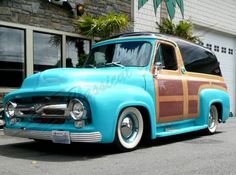 55 Ford Panel Delivery
